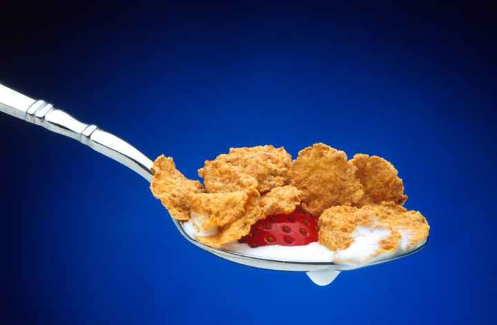food spoon eating morning
