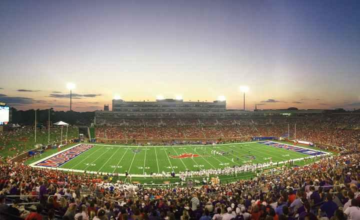photo of stadium scenery