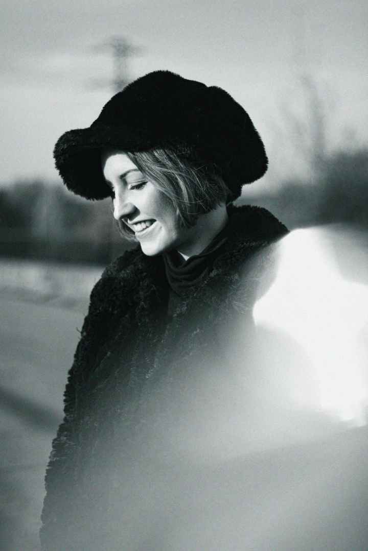 woman wearing hat photograph